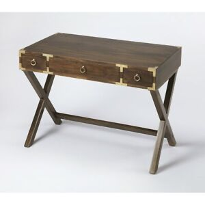 Butler Forster Campaign Writing Desk, Dark Brown - 9341354