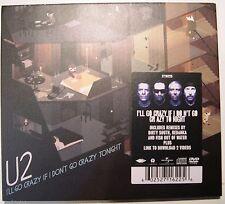 CDS CD SINGOLO U2 I'LL GO CRAZY IF I DON'T GO CRAZY TONIGHT DIGIPACK 6 TRACKS