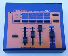 BOSS VT-1 VOICE CHANGER. FEATURES BUILT-IN TELEPHONE INTERFACE AND NEW HEADSET.