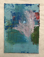 HASWORLD- ORIGINAL ACRYLIC PAINTING CANVAS Abstract Expressionism Contemporary