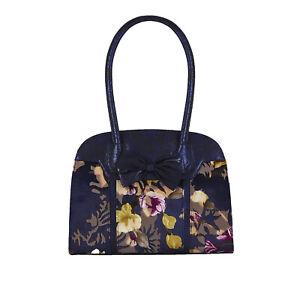 Ruby Shoo Navy Denver Large Top Handle Bag (Matches Athena Boots) Handbag