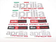 Aprilia Aufkleber Bogen Sticker Set Racing Satz für Motorrad Verkleidung #2a