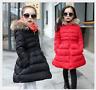 Winter Girls Down Coat Jacket Hooded Kids Warm Parka Outwear Snowsuit Trench New