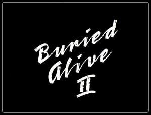 Buried Alive II - 1997 US tvm Stars: Ally Sheedy, Tim Matheson (UK dvd disc)