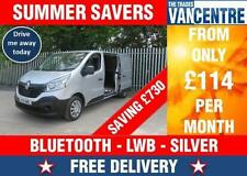 Renault LWB Commercial Van-Delivery, Cargoes