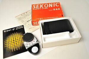 Sekonic Handy Lumi Model 246 Illuminometer Light Meter
