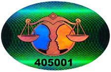 100 SOJ Hologram Tamper Evident Security Warranty Void Labels Stickers Seals #'d