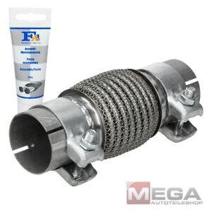 Flexrohr Rohr Hosenrohr Edelstahl Flexstück 45 / 48 / 55mm Inkl. Montagepaste