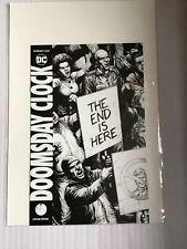 DOOMSDAY CLOCK ASHCAN VARIANT RARE DC COMICS