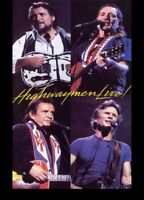 HIGHWAYMEN LIVE DVD ~ JOHNNY CASH~WILLIE NELSON~WAYLON JENNINGS HIGHWAYMAN *NEW*