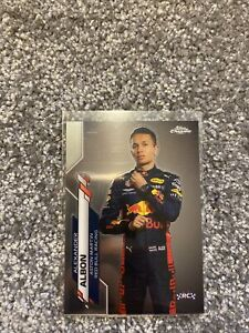 F1 Topps Chrome - Alexander Albon Lot Of 4 Rookies