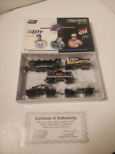 1998 Revell Rusty Wallace John Force Elvis Presley Tribute Train Set 1:64 Scale