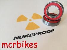 Nukeproof Mega AM / Rook Bearings Frame Pivots 6 Chrome steel Grease Filled 2RS