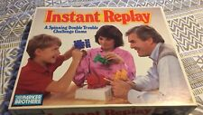 Rare! Gently Used Parker Brothers ©1987 INSTANT REPLAY Challenge Game COMPLETE