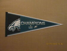 NFL Philadelphia Eagles Super Bowl LII Champions Circa 2018 Football Pennant