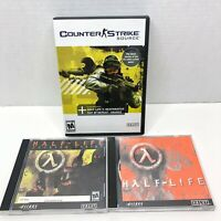 HALF LIFE First Edition King's Quest, Gunman Chronicles, & Counter Strike PC