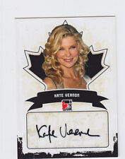 2011 In the Game Canadiana Autographs KATE VERNON Auto #A-KV1