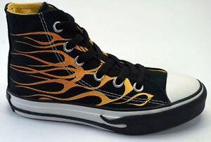 Converse Kids Black Flame HI 614160