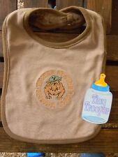 Tiny Trooper USMC embroidered Desert Baby Bib 100% soft cotton