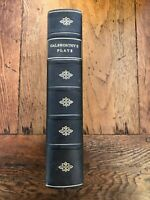 the plays of john galsworthy . leather bound 1935