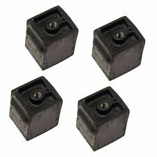 Porsche 912 1.6L 1966-1969 Pair Set of 4 Manual Trans Engine Mounts OE Supplier