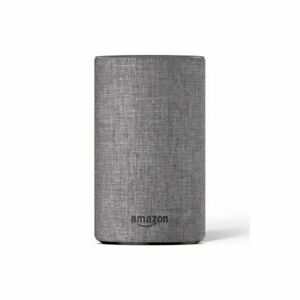 Amazon Echo (2nd Generation) Smart Assistant - Heather Grey Fabric