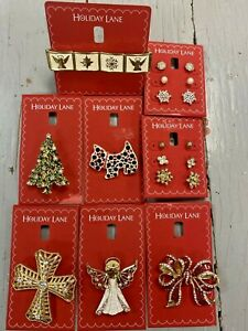 HOLIDAY LANE Women's Holiday Jewelry, Assorted Styles, NEW