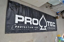 Large  Protec Racing PROTECTION FOR PROGRESSION  Banner 120x35""