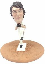 Custom Male Bobblehead Baseball Pitcher 2 Any Team made to look like you