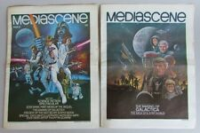 MEDIASCENE MAGAZINE # 30 Complete vintage 1978 Star Wars newspaper McQuarrie