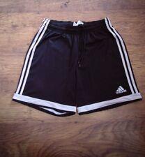 "Vintage Retro Genuine Mens 3Stripe Black Adidas Shorts 80'90s Waist 28/50"" (#46)"