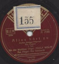 Rio Gebhardt + Adolf Wolff :  Alles hört zu - Schlager Potpourri