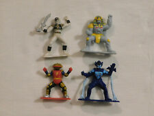 Mighty Morphin Power Rangers 1994 3 inch PVC Mini Figures Cake Toppers Bandai