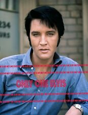 ELVIS PRESLEY in the Movies 1969 11x14 Photo CHANGE of HABIT - STUNNING CLOSE-UP
