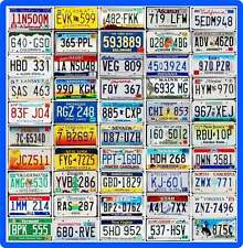 COMPLETE SET 50 UNITED STATES License Plates - ALL 50 USA States + BONUS Plate!