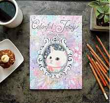Jetoy Schedule Note Coloring Book Adult Anti Stress Art Therapy DIY Stationery