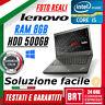 "PC NOTEBOOK LENOVO THINKPAD T440P 14"" CPU i5 8GB RAM HDD 500GB +LICENZA WIN 10"