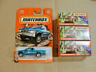 4- Matchbox Red & Teal 95 Nissan Hardbody MBX power grabs Carded New Sealed Lot