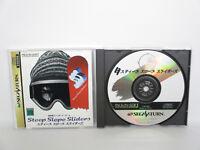 STEEP SLOPE SLIDERS Sega Saturn Import Japan Game ss