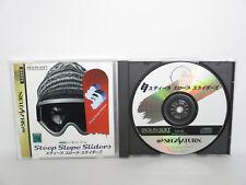 STEEP SLOPE SLIDERS Sega Saturn ss