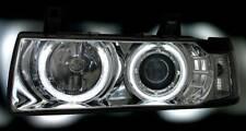 Chrome Clair CCFL Angel Eye Phares Projecteurs BMW E36 Saloon Estate & COMPACT