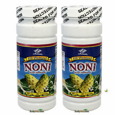 2 x All Natural Noni Extract 400mg 180 Capsules = 360 Caps, FRESH, FREE SHIPPING