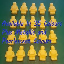 30 x Edible Unofficial Lego Men cupcake cake toppers decorations christening