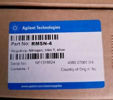 Agilent Nitrogen MegaSorp RMSN-4, 1/4 in T, Silver   [Pack of 2]