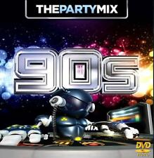 Dj Video Mix - 90's Party Mix 2 -  74 Minutes of Non Stop Hits/43 Songs in 1 Mix