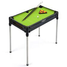 Kids Pool Table 2 in 1 Freestanding Indoor Tabletop Game With Cues Toystar