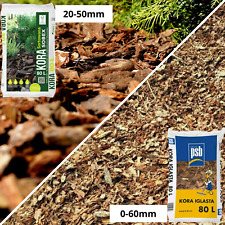 More details for wooden bark mulch decorative chippings wood landscaping garden chips quality