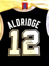 LaMarcus Aldridge Signed Autograph San Antonio Spurs NBA Jersey with Tags & COA!