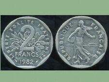 2 francs 1982 NICKEL  semeuse   ( bis )