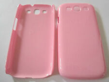 Pink Samsung Galaxy S3 SIII S III i9300 Hard Plastic Full Back , Snap-On Case